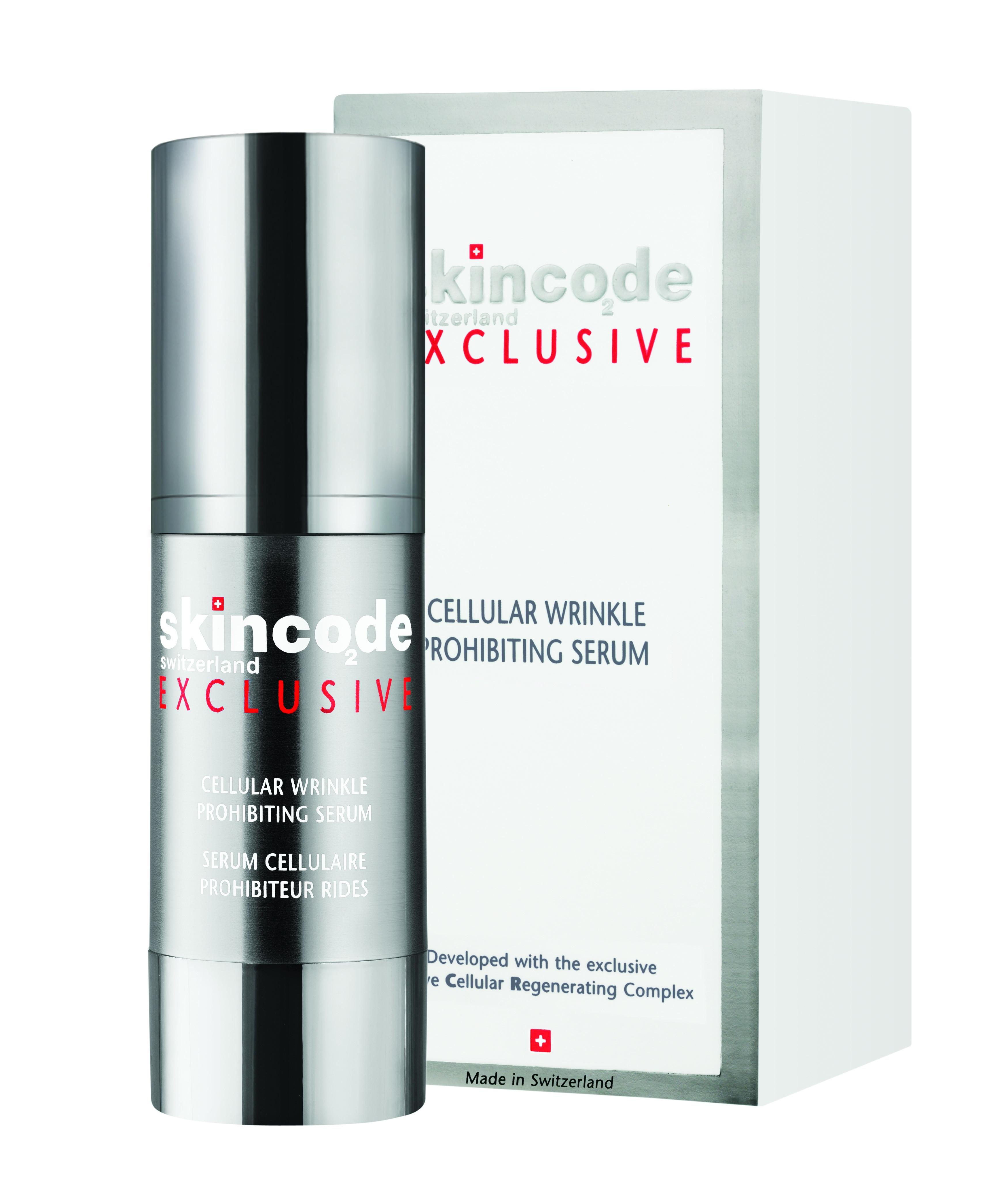 "СКИНКОД ЕКСКЛУЗИВ Клетъчен серум ""Стоп на бръчките"" 30мл | SKINCODE EXCLUSIVE Cellular wrinkle prohibiting serum 30ml"