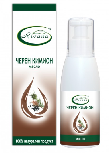 РИВАНА Масло от ЧЕРЕН КИМИОН 100мл | RIVANA BLACK CUMIN Oil 100ml