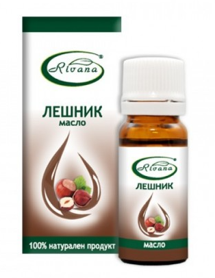 РИВАНА Масло от ЛЕШНИК 10мл | RIVANA HAZELNUT Oil 10ml