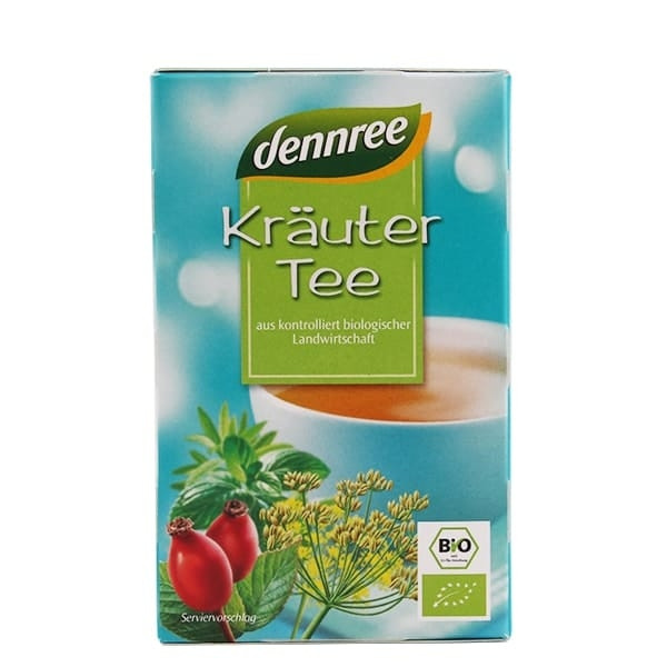 """БИО Чай Билков пакетчета 20бр, 30гр ДАНРЕ   BIO Tea """"Kräuter"""" teabags 20s, 30g DANNREE"""