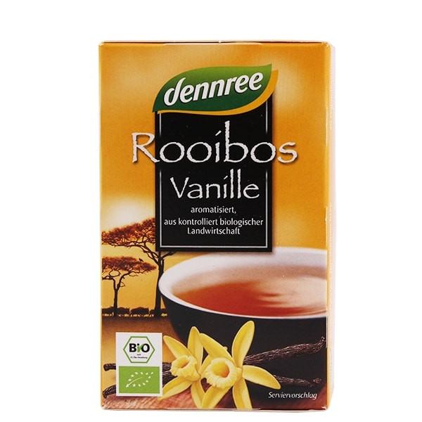 "БИО Чай Ройбос и Ванилия пакетчета 20бр, 30гр ДАНРЕ | BIO Tea ""Rooibos Vanille"" teabags 20s, 30g DANNREE"