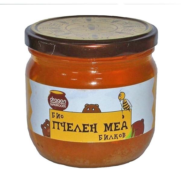БИО Пчелен билков мед 500мл СМАРТ ОРГАНИК | BIO Herbal honey 500ml SMART ORGANIC