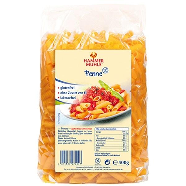 Пене Царевично, без глутен 500гр ХАМЕРМИЛ | Penne Corn, gluten free 500g HAMMERMÜHLE