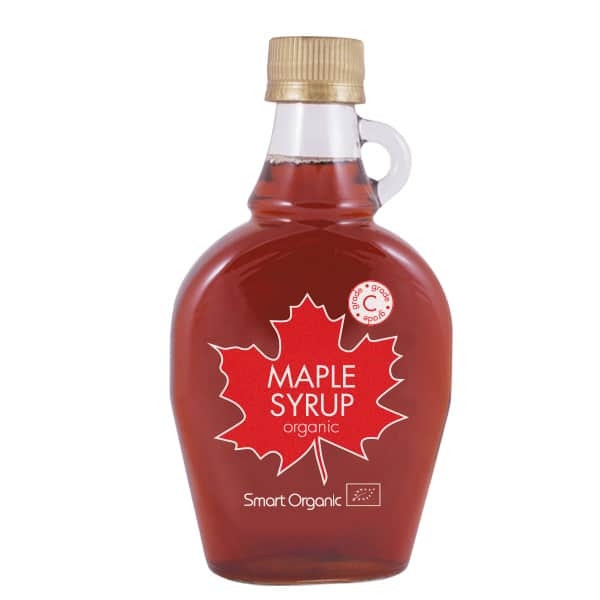 БИО Кленов сироп градус C 250мл СМАРТ ОРГАНИК | ORGANIC Maple syrup C 250ml SMART ORGANIC