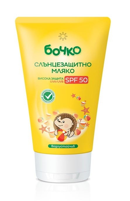 БОЧКО Слънцезащитно мляко SPF50 150мл   BOCHKO Sun protection milk SPF50 150ml