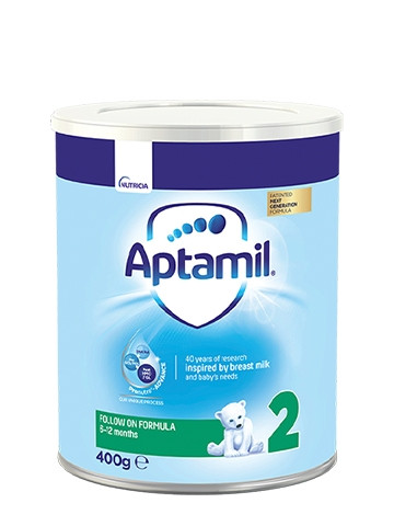 АПТАМИЛ 2 с Pronutra+ Преходно мляко 6-12 м. 400гр. | APTAMIL 2 with Pronutra+ Follow on milk formula 6-12 m 400g