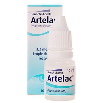 АРТЕЛАК 0,32% капки за очи 10мл | ARTELAC 0,32% eye drops 10ml