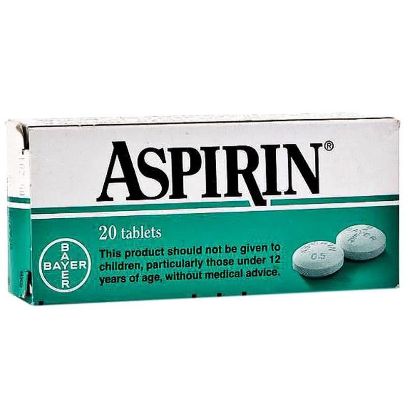 АСПИРИН 500мг. таблетки 20бр. | ASPIRIN 500mg tablets 20s