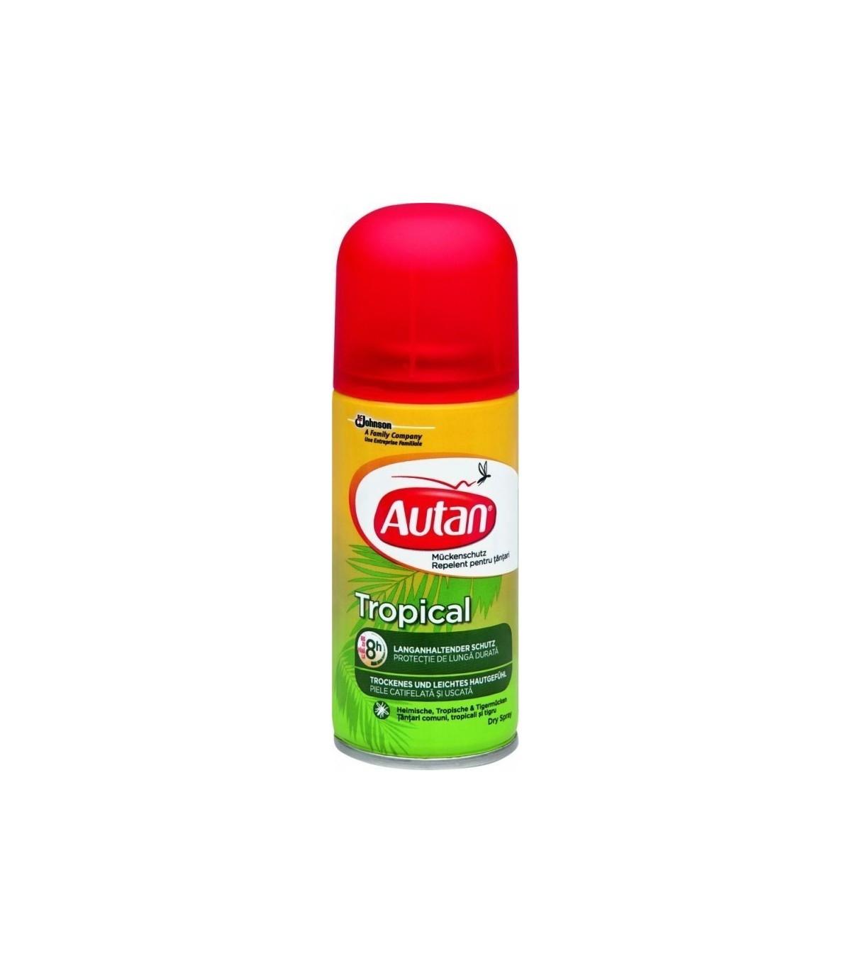 АУТАН Тропикал сух спрей 100мл | AUTAN Tropical dry spray 100ml