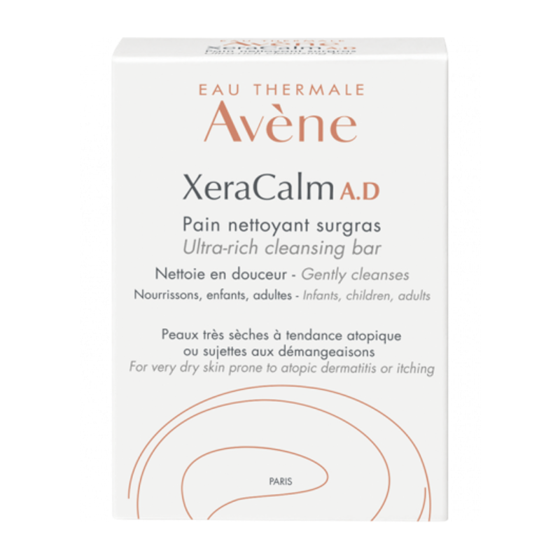 АВЕН КСЕРАКАЛМ А.Д. Свръхобогатен сапун 100гр | AVENE XERACALM A.D. Ultra-rich cleansing bar 100g
