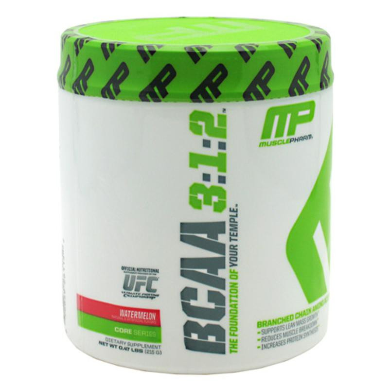 ВРАК - ДИНЯ прах 215г МЪСЪЛФАРМ | BCAA - WATERMELON pwd 215 g MUSCLEPHARM