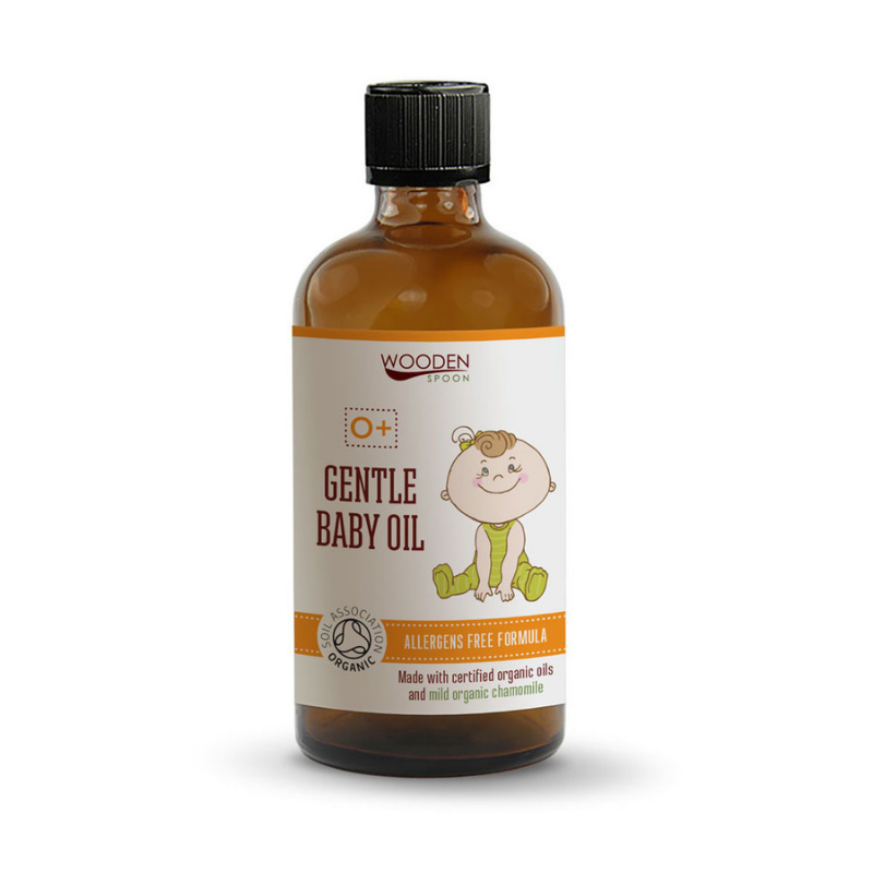 Бебешко олио 100мл УДЪН СПУУН | Gentle Baby Oil 100ml WOODEN SPOON