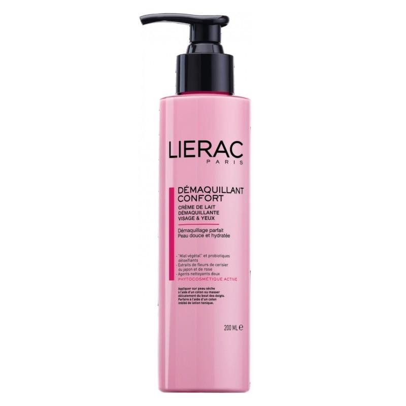 ЛИЕРАК Почистващо мляко за очи и лице 200мл | LIERAC Milky cleansing cream 200ml