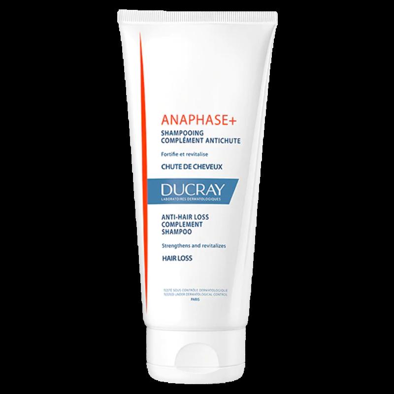 ДЮКРЕ АНАФАЗА+ Шампоан допълваща грижа против косопад 200мл   DUCRAY ANAPHASE+ Shampoo hairloss supplement 200ml