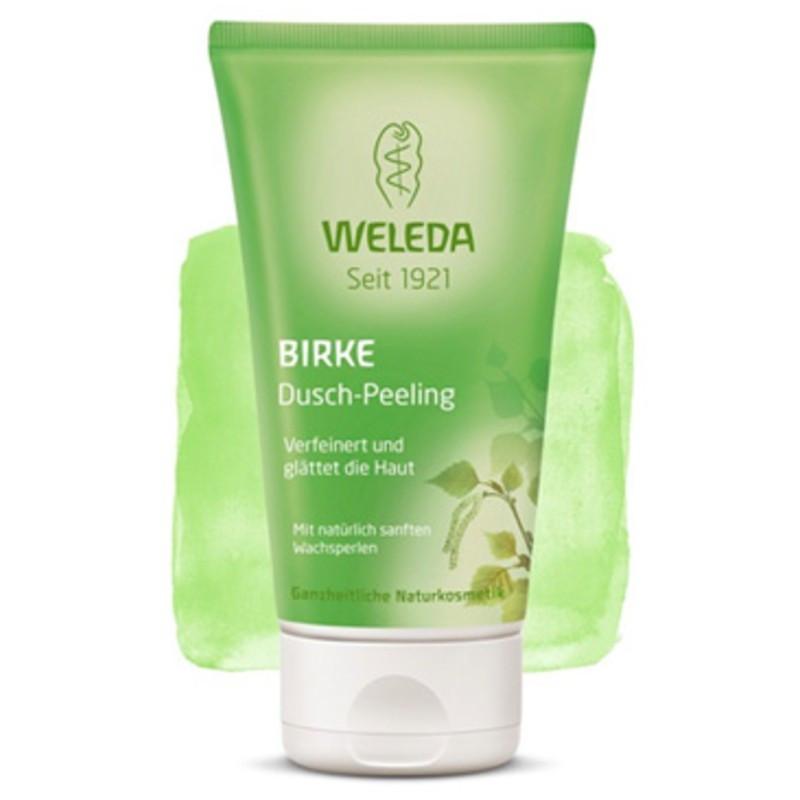 ВЕЛЕДА Скраб за тяло с бреза 150мл | WELEDA Birken dusch peeling 150ml