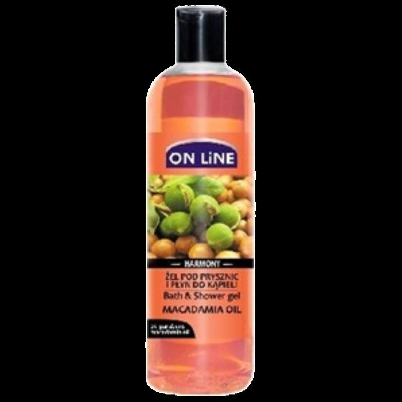 Душ гел с масло от Макадамия 500мл ОН ЛАЙН | Shower gel and bath with Macadamia oil 500ml ON LINE
