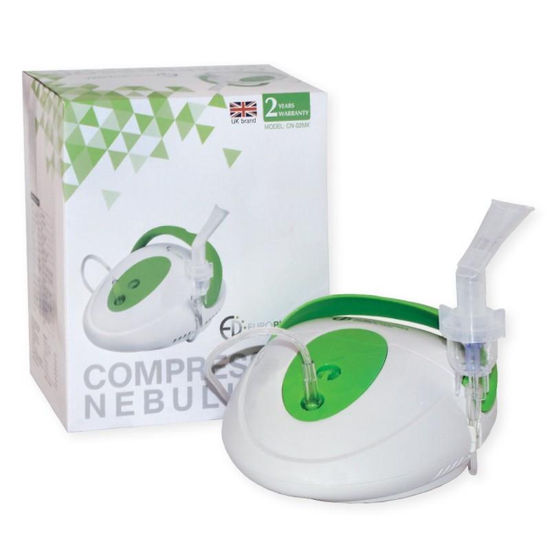 ЕВРОФАРМА Компресорен инхалатор Компакт CN-02MK | EUROPHARMA Compressor nebuliser Compact CN-02MK