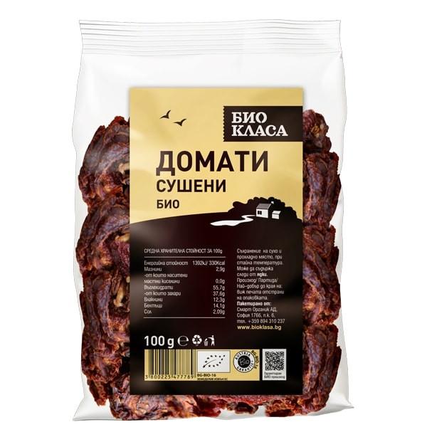 БИО Сушени домати 100гр БИО КЛАСА   BIO Dried tomatoes 100g BIO KLASA