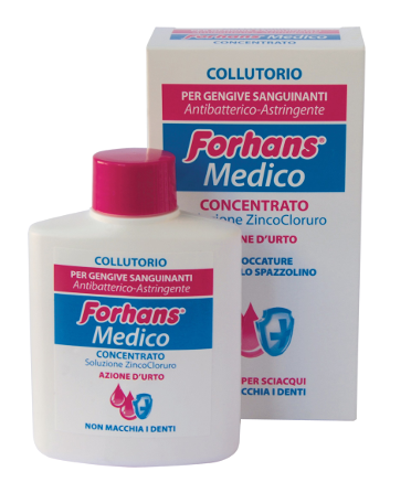 ФОРХАНС Медицински разтвор за уста концентрат 75мл | FORHANS Medical mouthwash concentrate 75ml