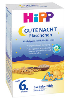 ХИП ЛЕКА НОЩ Био преходно мляко за кърмачета 500гр | HIPP GOOD NIGHT Bio follow on infant milk 500g