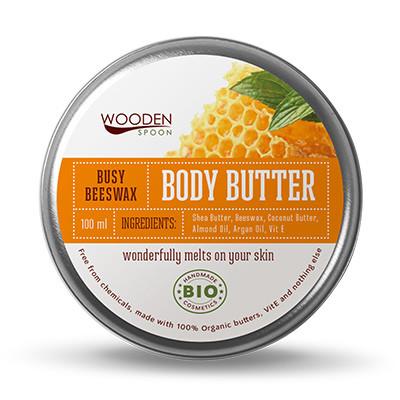 УДЪН СПУУН Крем за тяло Busy Beeswax 100мл   WOODEN SPOON Body Butter Busy Beeswax 100ml