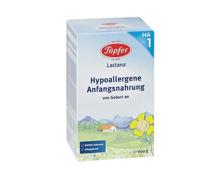 ЛАКТАНА БИО 1 ХИПО-АЛЕРГЕННО Мляко за кърмачета 0+ м. 600гр. | LACTANA BIO 1 Н.А. Infant formula 0+ m 600g