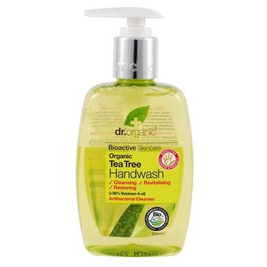 Д-Р ОРГАНИК Чаено дърво течен сапун 250мл | DR ORGANIC Tea tree hand wash 250ml