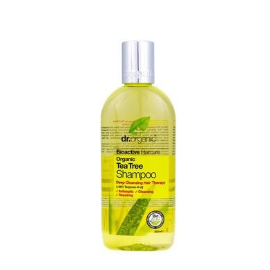 Д-Р ОРГАНИК Чаено дърво шампоан 265мл   DR ORGANIC Tea tree shampoo 265ml