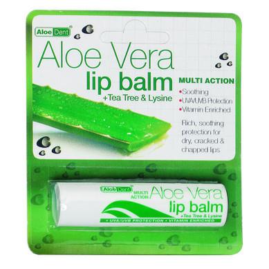 ОПТИМА Алое Вера балсам за устни 4гр   OPTIMA Aloe Vera lip balm 4g