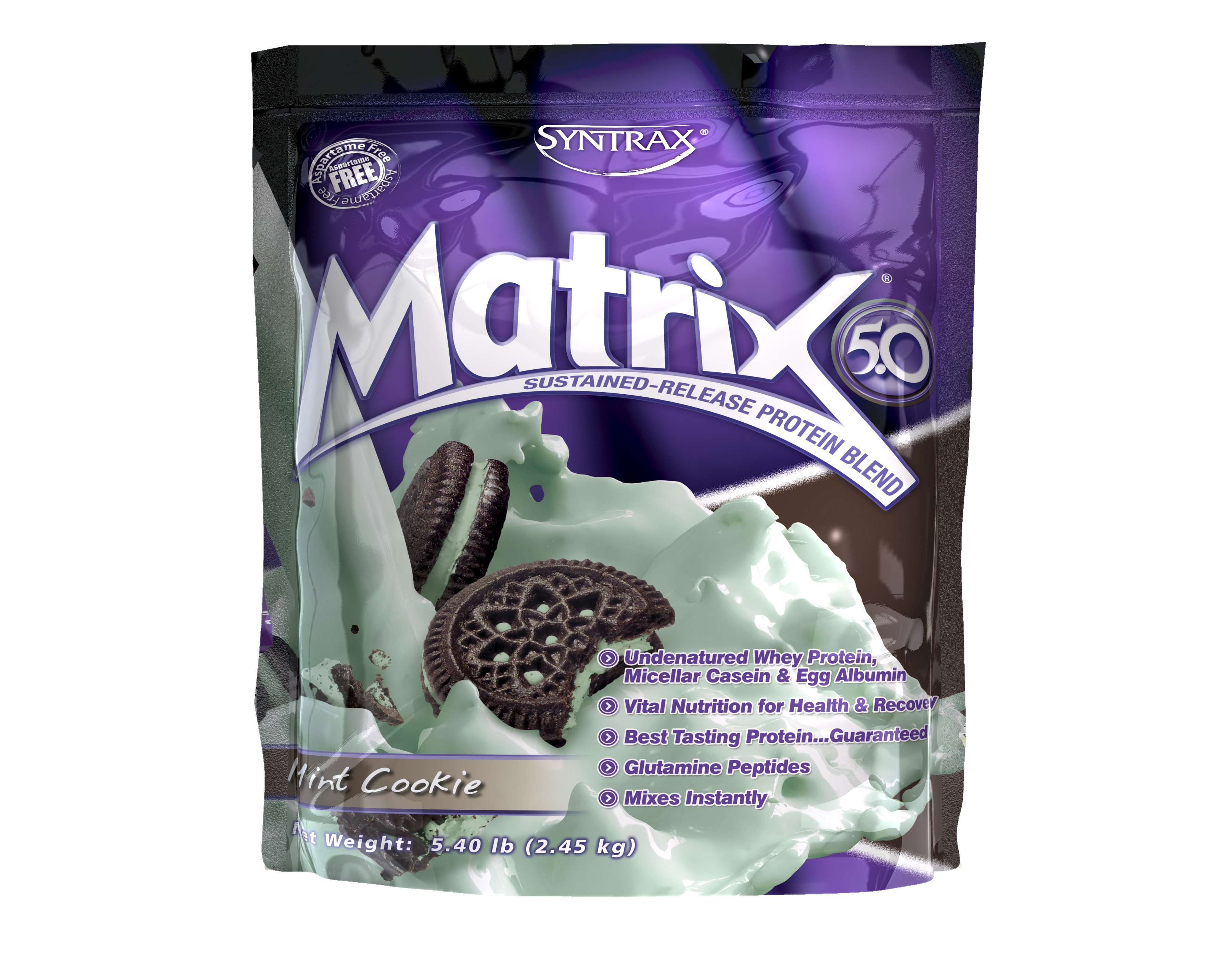 МАТРИКС 5.0 – МЕНТОВА БИСКВИТА прах 2.45кг СИНТРАКС | MATRIX 5.0 – MINT COOKIE pwd 2.45kg SYNTRAX