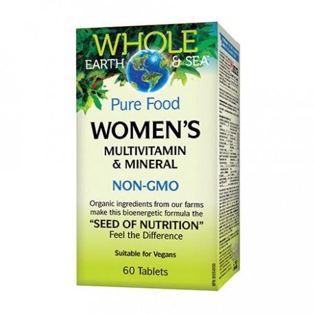 МУЛТИВИТАМИНИ и МИНЕРАЛИ За жени 60бр. таблетки НАТУРАЛ ФАКТОРС | WOMEN'S MULTIVITAMINS & MINERALS 60s tabs NATURAL FACTORS
