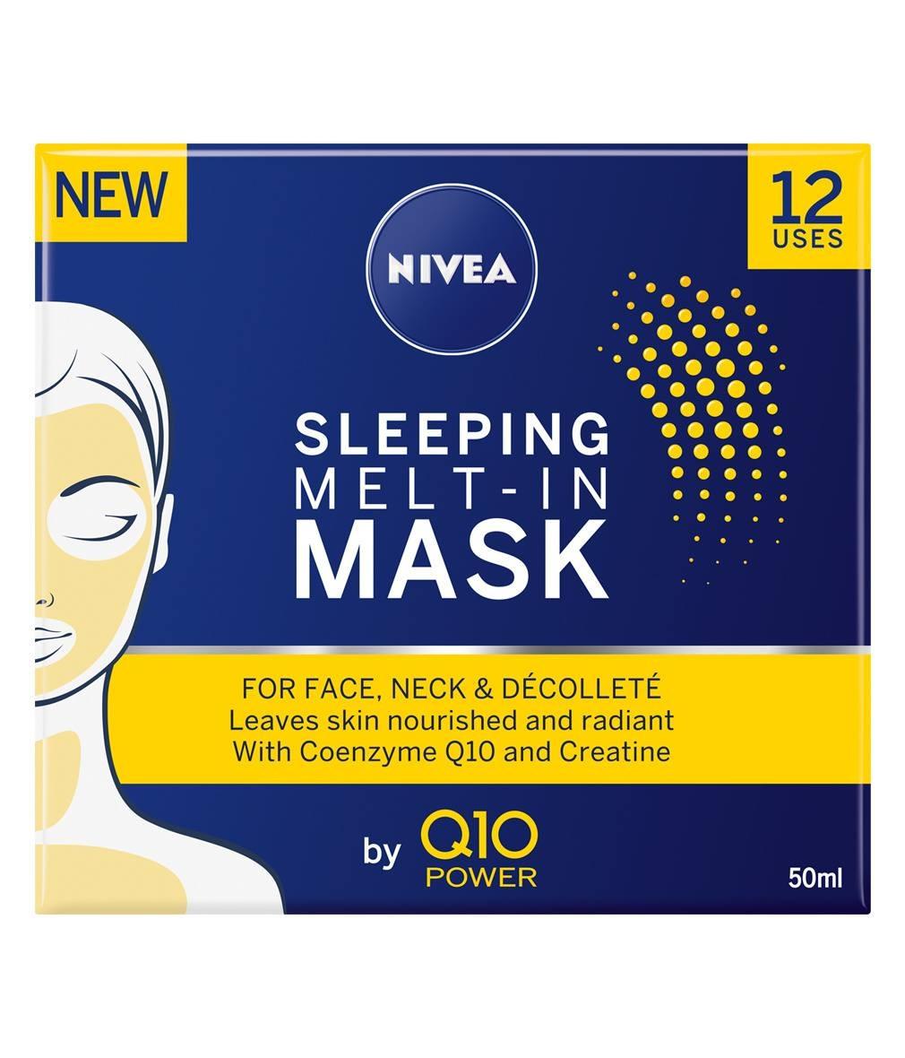 НИВЕА Q10 ПАУЪР Нощна маска 50мл | NIVEA Q10 POWER Sleeping melt-in mask 50ml