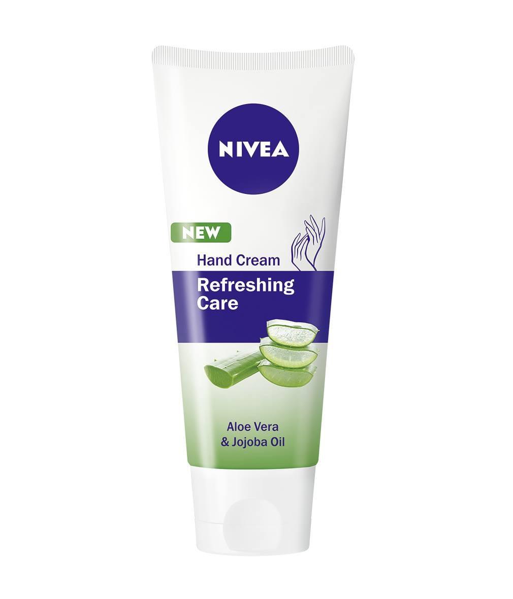 НИВЕА РЕФРЕШИНГ КЕЪР Крем за ръце 75мл | NIVEA REFRESHING CARE Hand cream 75ml