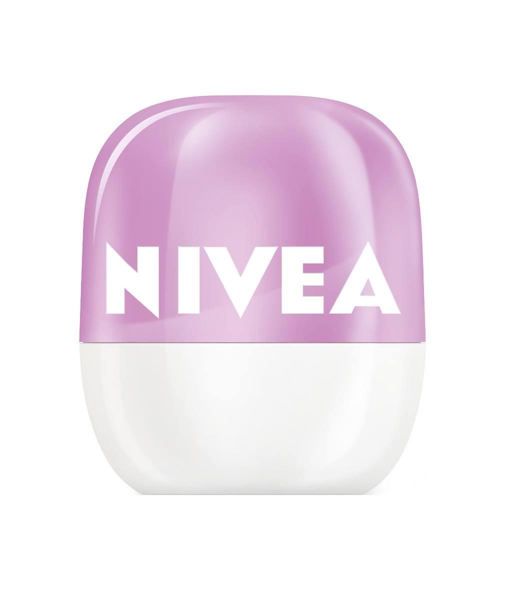 НИВЕА ПОП БОЛ Балсам за устни Боровинка и Черешов цвят 7гр | NIVEA POP-BALL Lip balm Blueberry and Cherry blossom 7g
