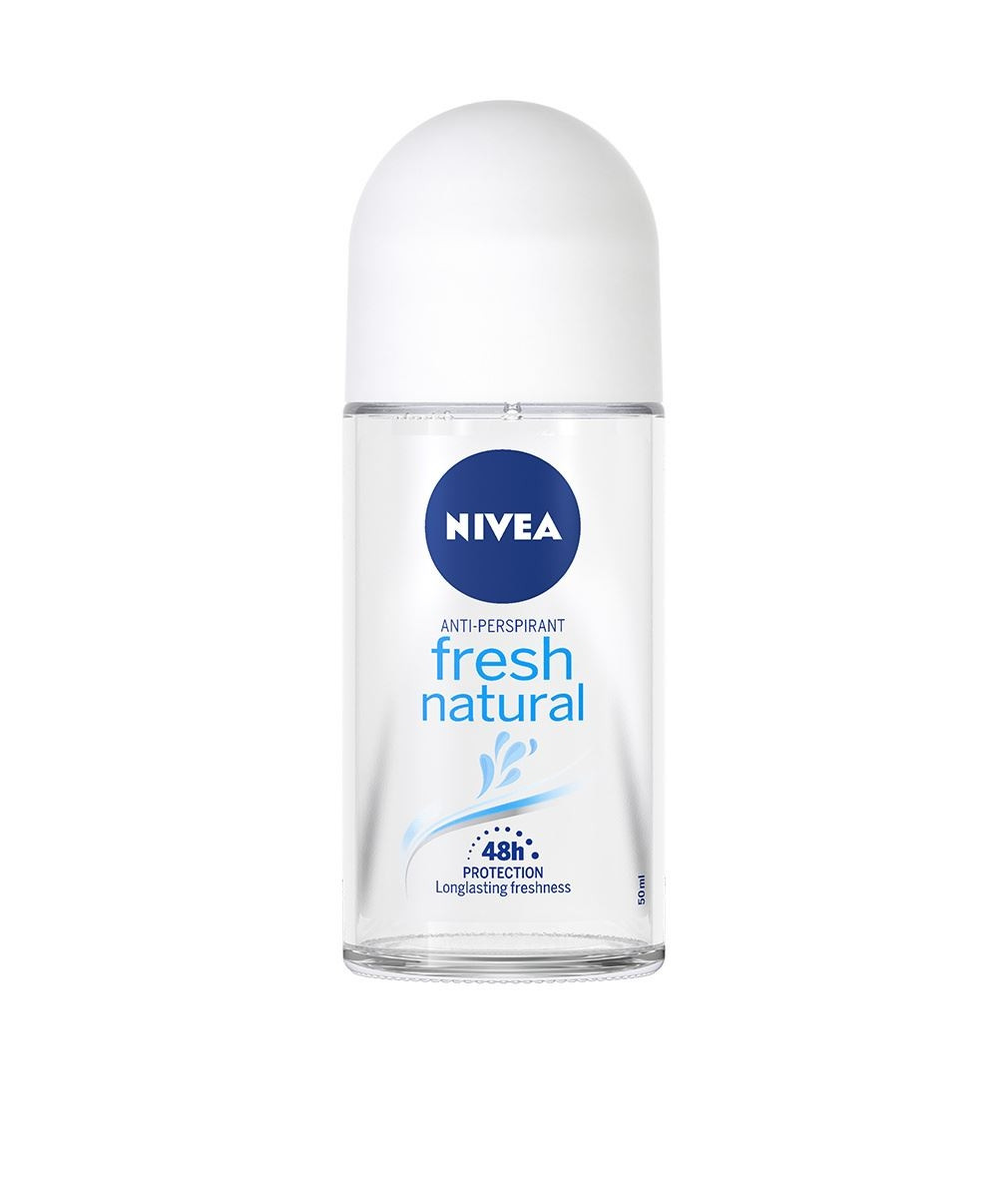 НИВЕА ФРЕШ НАТУРАЛ Дезодорант рол-он 50мл | NIVEA FRESH NATURAL Anti-perspirant roll-on 50ml