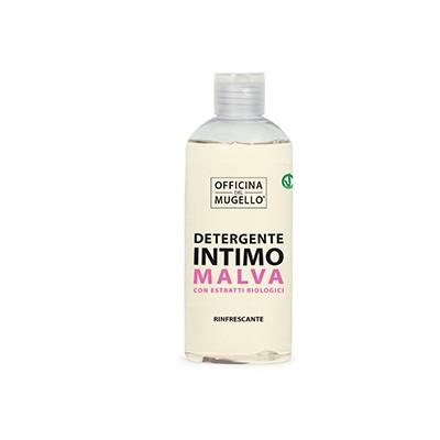 ОФИЦИНА ДЕЛ МУДЖЕЛО БИО Освежаващ интимен сапун със Слез 250мл | OFFICINA DEL MUGELLO BIO Refreshing intimate soap with Mauve 250ml