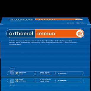 ИМУН за силен имунитет 30бр. сашета ОРТОМОЛ | IMMUN 30s sachets ORTHOMOL