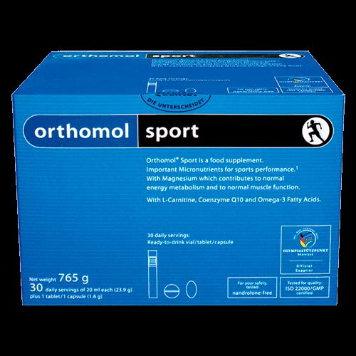 СПОРТ за активно спортуващи 30бр. дози ОРТОМОЛ | SPORT 30s doses ORTHOMOL