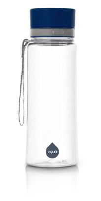 ЕКУА Еко бутилка СЕМПЛО СИНЬО BPA free 600мл | EQUA Eco bottle PLAIN BLUE BPA free 600ml
