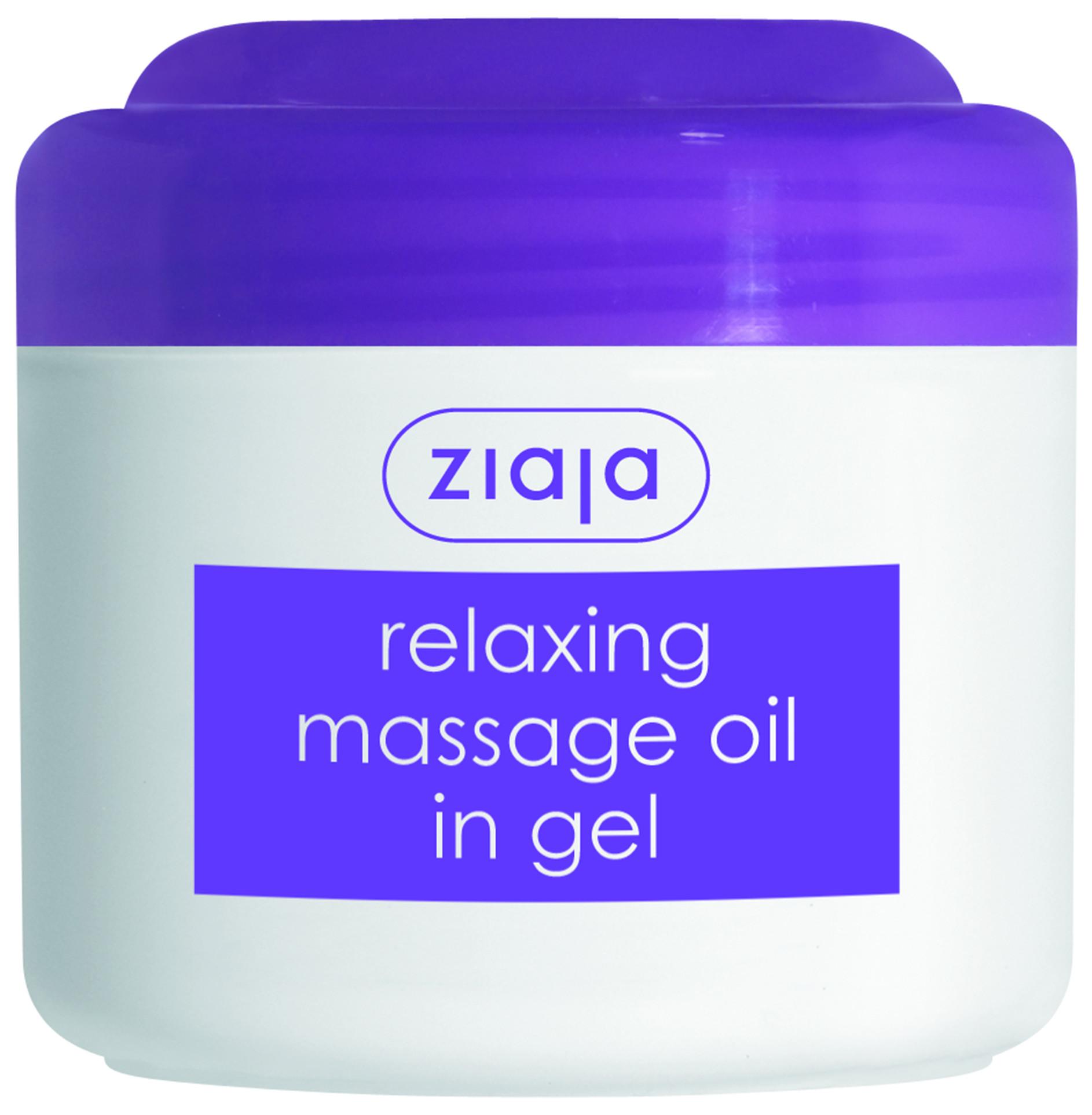 ЖАЯ Релаксиращо масажно олио в гел форма 180мл   ZIAJA Relaxing massage oil in gel 180ml