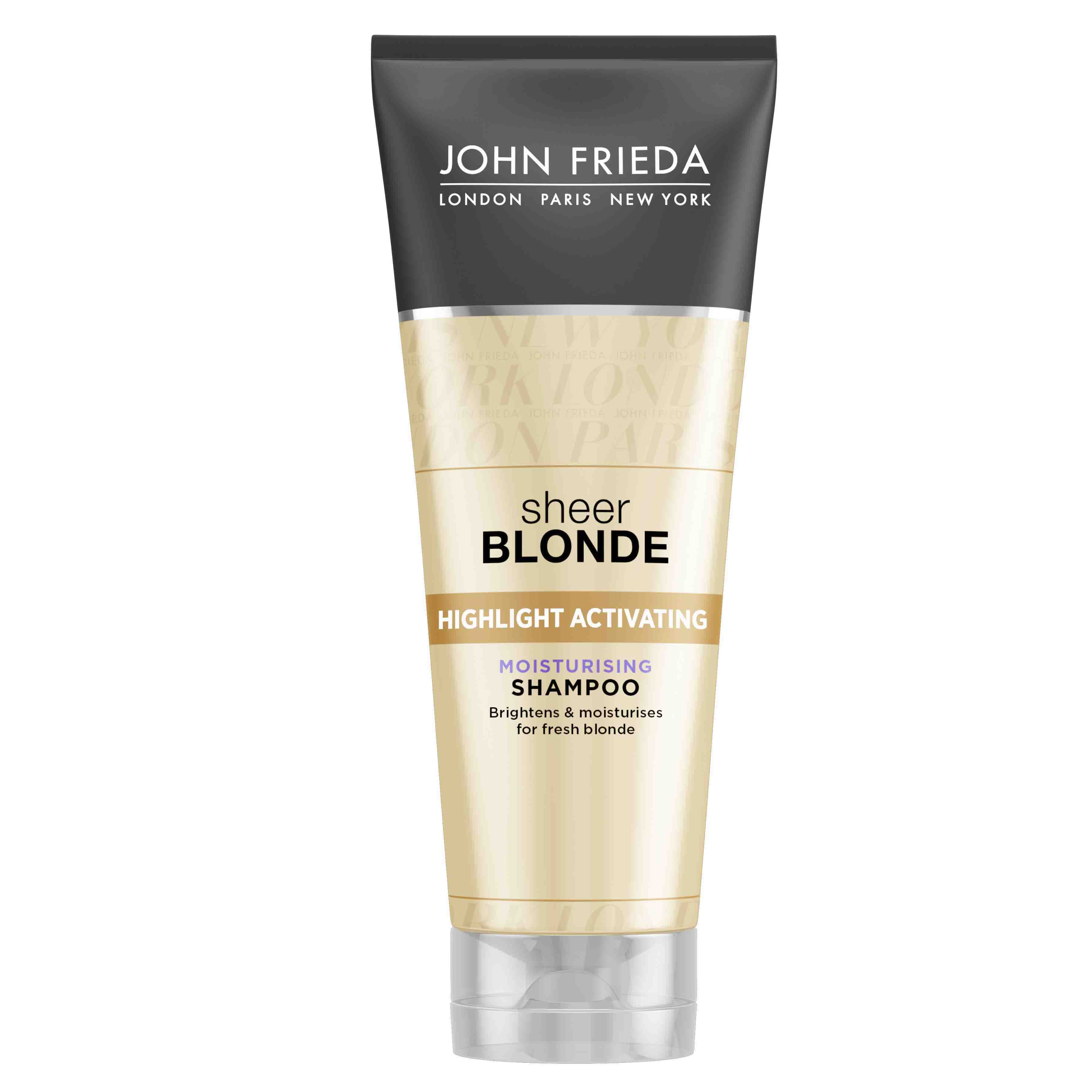 ДЖОН ФРИДА ШИР БЛОНД Хидратиращ шампоан за руса коса 250мл | JOHN FRIEDA SHEER BLONDE Highlight activating moisturising shampoo 250ml