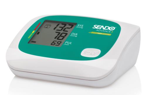 СЕНДО Апарат за измерване на кръвно налягане АДВАНС 3 ХИРА   SENDO Blood pressure monitor ADVANCE 3 HIRA