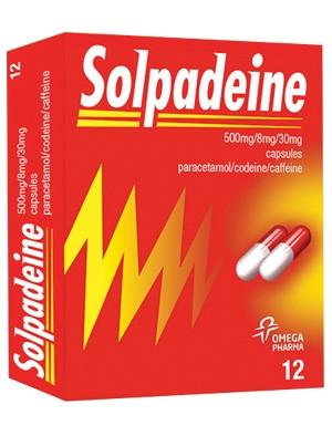 СОЛПАДЕИН капсули 12бр. | SOLPADEINE capsules 12s