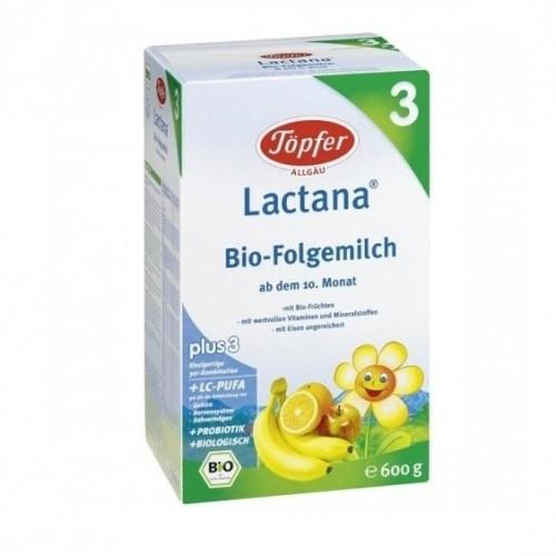 ЛАКТАНА БИО 3 Мляко за деца 10+ м. 600гр. | LACTANA BIO 3 Growing up milk 10+m 600g