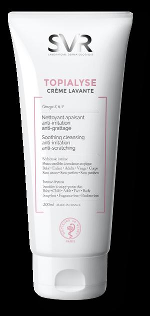 СВР ТОПИАЛИЗЕ Почистващ крем-гел за много суха и атопична кожа 200мл | SVR TOPIALYSE Crème lavante 200ml