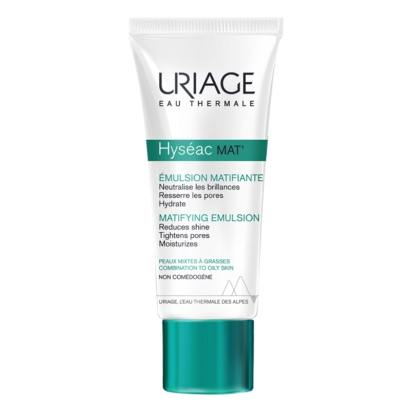 ЮРИАЖ ХИСЕАК МАТ Матираща емулсия 40мл | URIAGE HYSEAC MAT Matifying emulsion 40ml