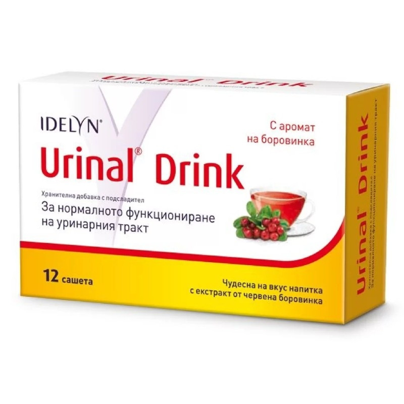 УРИНАЛ Дринк 12 сашета ВАЛМАРК | URINAL Drink 12s WALMARK