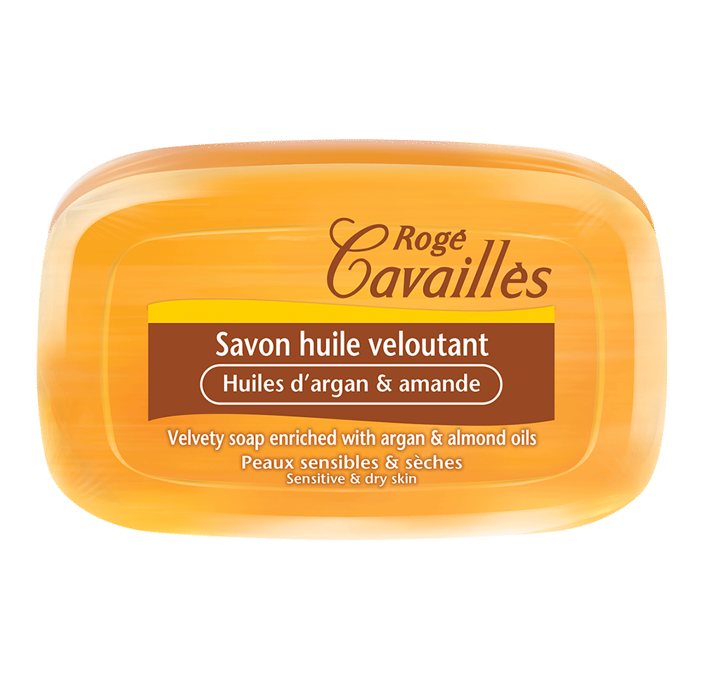 РОЖЕ КАВАЙЕ Кадифен сапун с масло от арган и бадем 115гр | ROGE CAVAILLES Velvety soap 115g