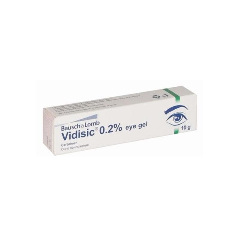 ВИДИЗИК 2,5мг/гр гел за очи 10гр   VIDISIC 2,5mg/g eye gel 10g