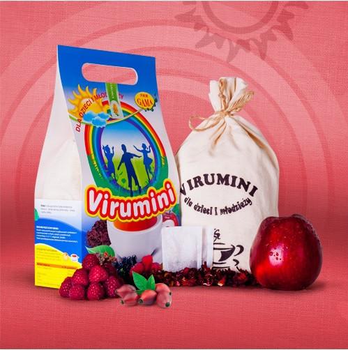 ВИРУМИНИ филтърни торбички 120бр x 2.5гр (300гр общо) ПВМ ГАМА | VIRUMINI filter bags 120s x 2.5g (300g total) PWM GAMA